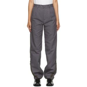 GR10K Grey Klopman Architectonic Trousers
