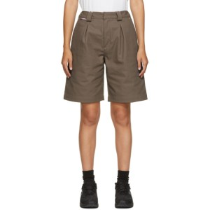 GR10K Taupe Klopman Tailored Shorts