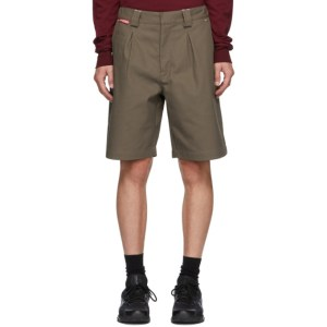 GR10K Brown Klopman Tailored Stalker Shorts