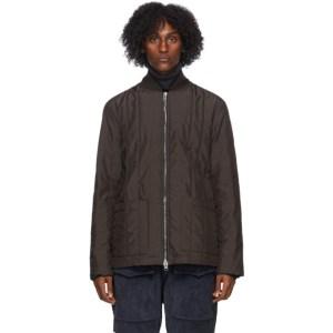 Barena Brown Saliner Overshirt Jacket