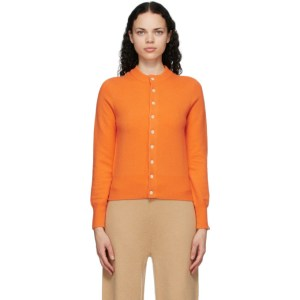 Extreme Cashmere Orange Cashmere Little Game Cardigan