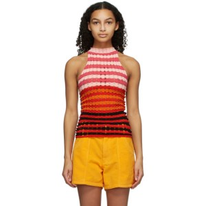 AGR Multicolor Striped Tank Top