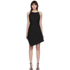 Coperni Black Motion Midi Dress