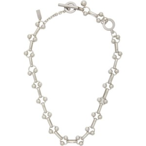 Mounser Silver Regio Necklace