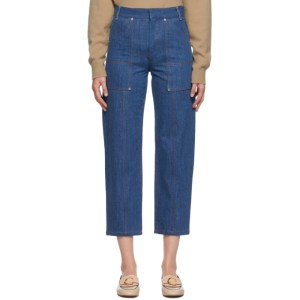 Chloe Blue Cropped Jeans