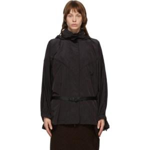 Juun.J Black Belted Coat