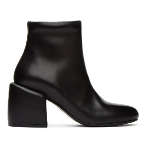 Marsell Black Tondino Ankle Boots