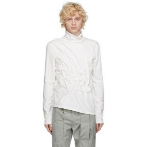 Post Archive Faction PAF White 3.1 Left Long Sleeve T-Shirt