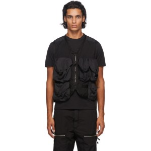 C.P. Company Black Taylon P Utility Vest
