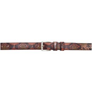 Rassvet Orange Snake Belt