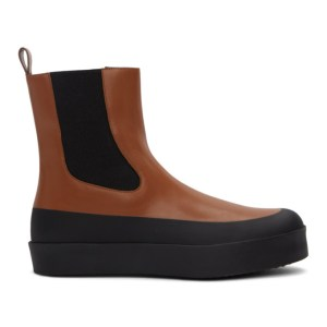 NEOUS Brown and Black Zaniah Boots