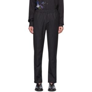 Davi Paris Black Brouillard Trousers