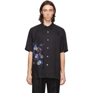 Davi Paris Black Erebus Short Sleeve Shirt