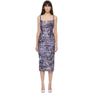 Maisie Wilen SSENSE Exclusive Purple Lady Miss Dress