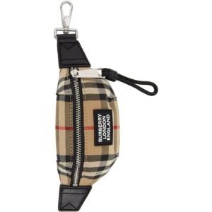 Burberry Beige Sonny Bum Bag Keychain