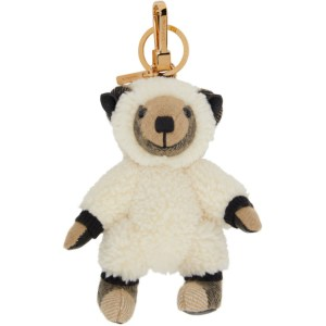 Burberry Beige Sheep Costume Thomas Keychain