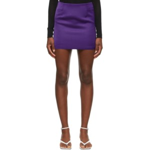 Georgia Alice Purple Power Mini Skirt