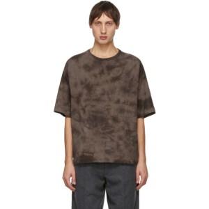 Tanaka Brown Dry Cotton T-Shirt