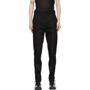 Ann Demeulemeester Black Amedeo Trousers