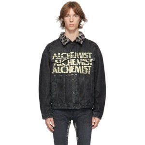Alchemist Black Denim Too Young To Die Jacket