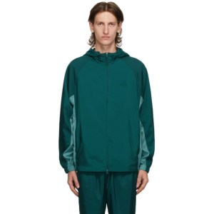 Kenzo Blue Packable Windbreaker Jacket