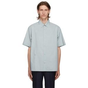 Kenzo Grey Casual Short Sleeve Shirt