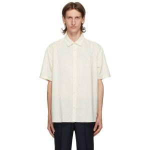 Kenzo Off-White Casual Short Sleeve Shirt