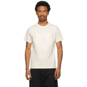 Kenzo Off-White Tiger Flock T-Shirt