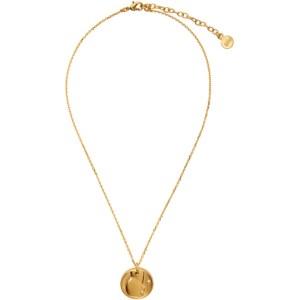 Ludovic de Saint Sernin Gold Top Medallion Necklace