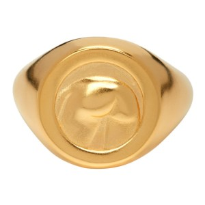 Ludovic de Saint Sernin Gold Bottom Ring