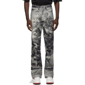 Who Decides War by MRDR BRVDO Blue Present Heaven Jeans