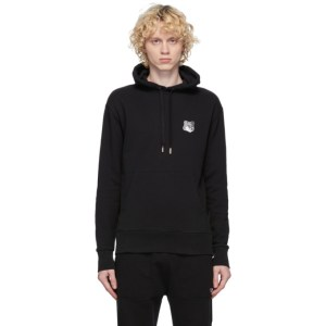 Maison Kitsune SSENSE Exclusive Black Fox Head Hoodie
