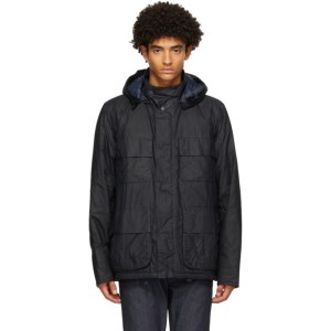 Barbour Navy Norse Projects Edition Wax Ursula Jacket