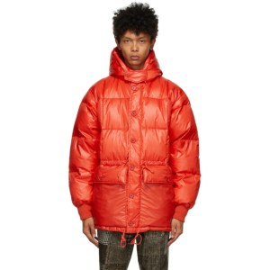 BEAMS PLUS Red Down Expedition Parka