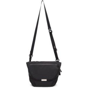 Master-Piece Co Black Flappy Messenger Bag