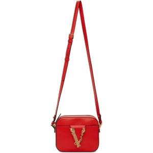 Versace Red Vitrus Camera Bag