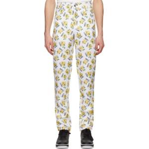 Phlemuns White Lemon Trousers