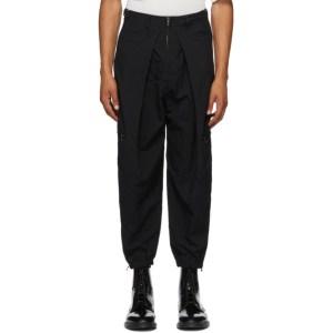 Julius Black Zip Cargo Pants