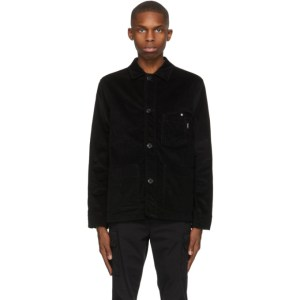 PS by Paul Smith Black Corduroy Chore Jacket