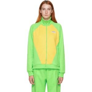 adidas LOTTA VOLKOVA Yellow and Green Podium Track Jacket