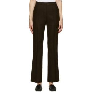 LVIR Brown Wool Trousers
