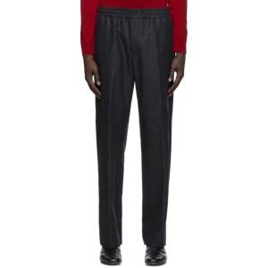 Dunhill Grey Wool Track Pants