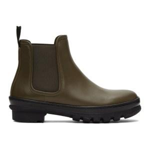 Legres Khaki Garden Chelsea Boots