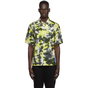MCQ Green Casual Short Sleeve Shirt
