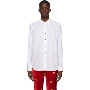 Paul Smith 50th Anniversary White Spaghetti Tailored Shirt