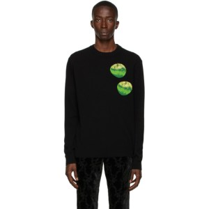 Paul Smith 50th Anniversary Black Wool Apple Sweater