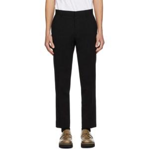 Sean Suen Black Wool Trousers