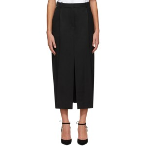 Nina Ricci Black Wool Trouser Skirt