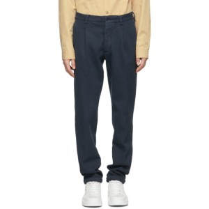 DOPPIAA Navy Antioco Trousers