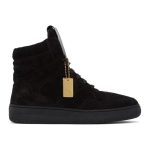 Human Recreational Services Black Mongoose High-Top Sneakers